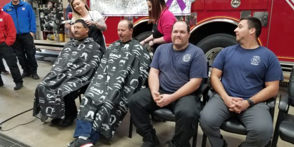 Firefighters In Chair